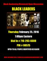 black-leader-phone-conference-flyer