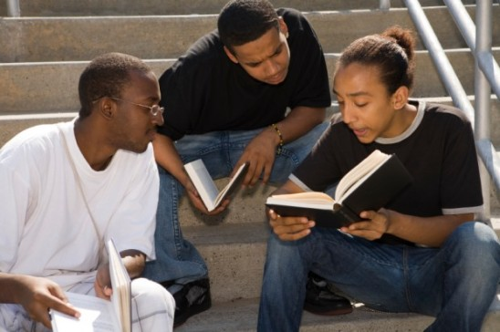 black males reading