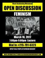 FEMINISM Flyer