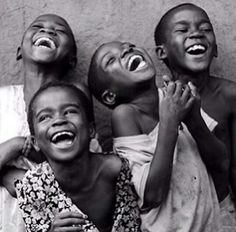 Happy African Children