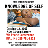 Knowledge of Self Flyer