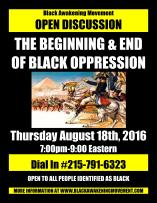 the-beginning-and-end-of-black-oppression-flyer