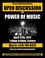 The Power of Music Flyer