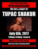 Tupac Shakur Flyer