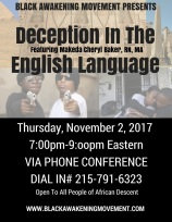 Deception In The English Language Flyer