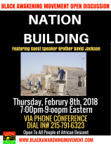Nation Building Flyer