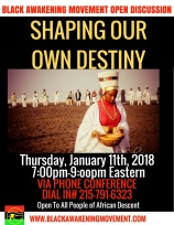 Shaping Our Own Destiny