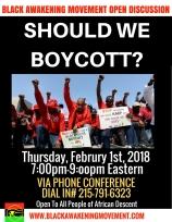 Should We Boycott