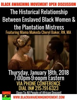The Historical Relationship Between Enslaved Black Women & the Plantation Mistress