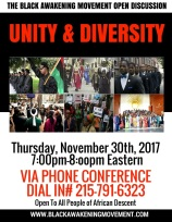 Unity and Diversity Flyer
