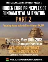 Euro Principles of Fundamental Alienation PART 2