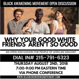 Why your good white friends aren't so good