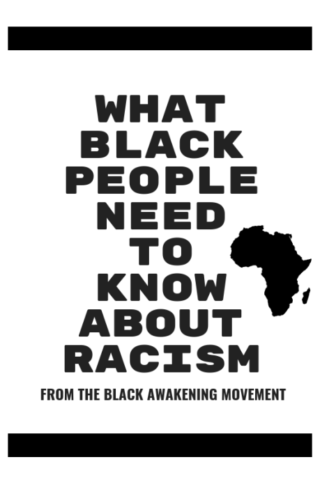 Booklet Cover -WHAT BLACK PEOPLE NEED TO KNOW ABOUT RACISM (1)
